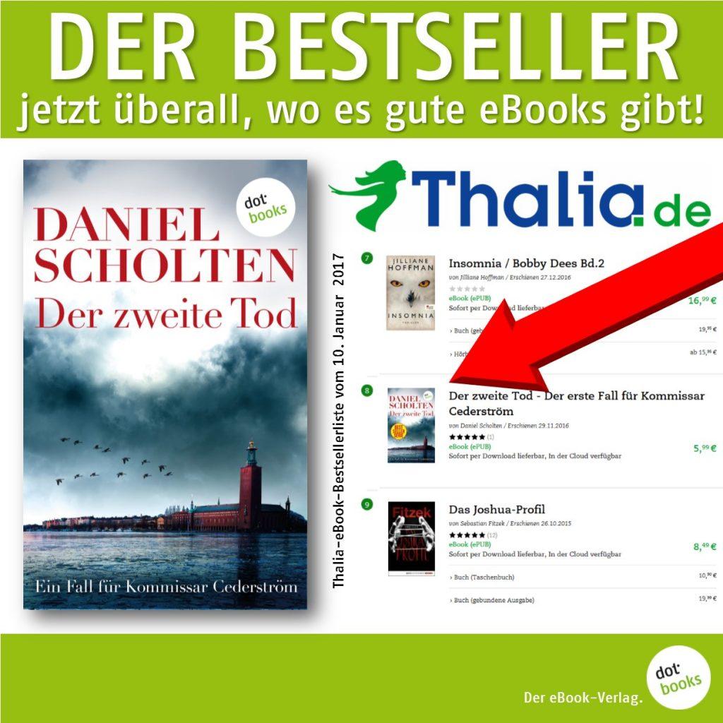 Scholten Die zweite Tote Thalia Bestseller