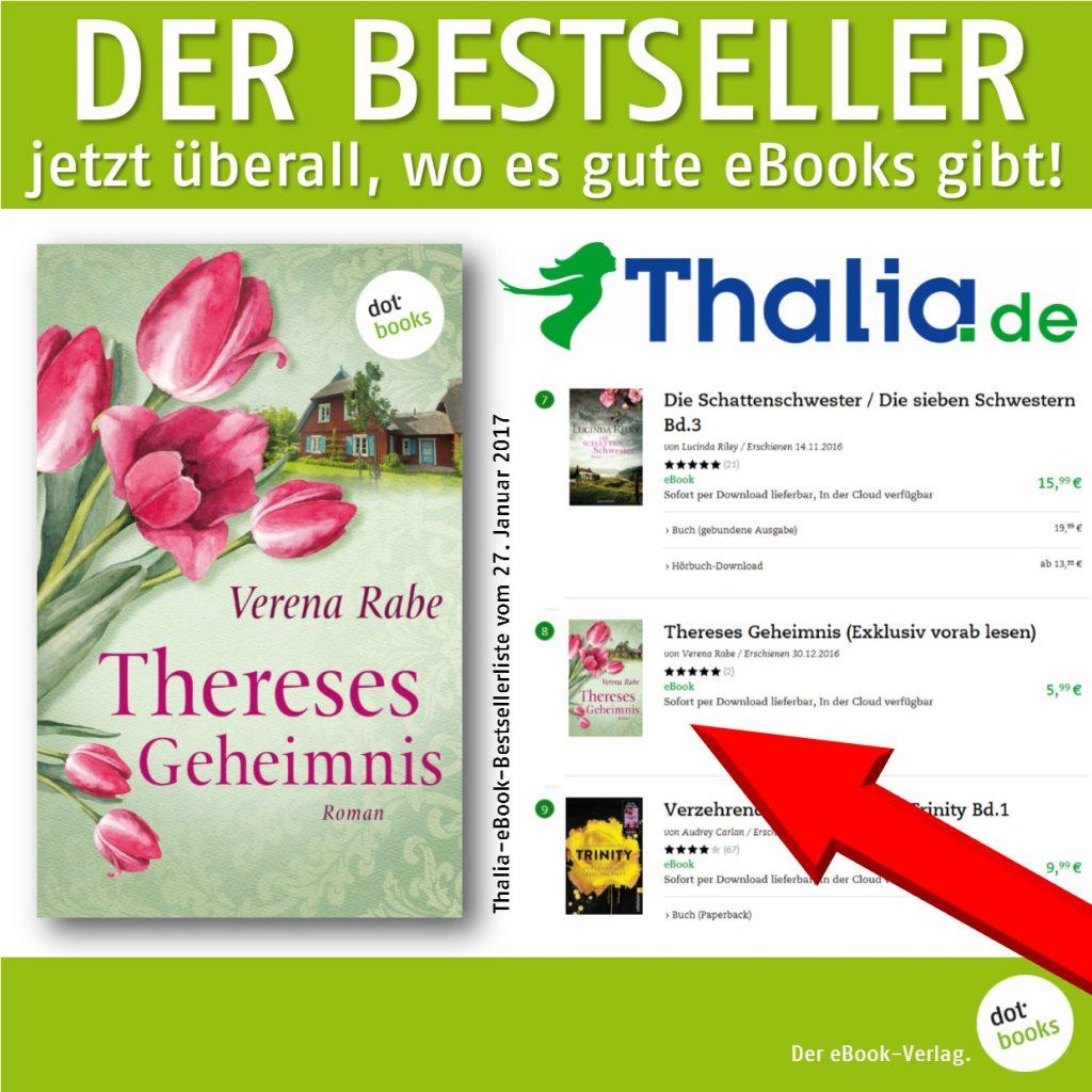 Rabe, Thereses Geheimnis Thalia Bestseller