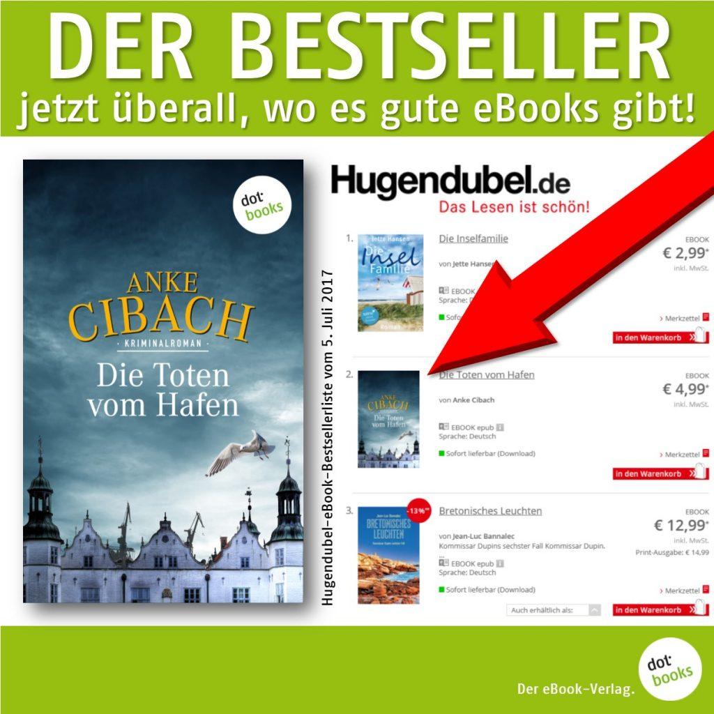 Cibach, Die Toten vom Hafen, Hugendubel Bestseller