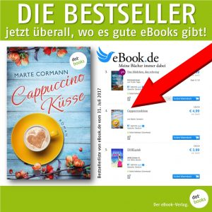 Cormann, Cappuchinoküsse Bestseller bei eBook.de