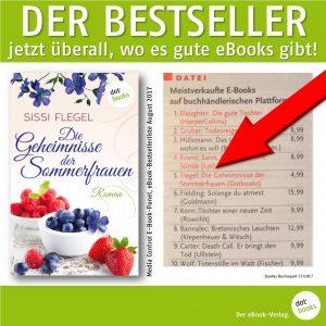 Flegel, Die Geheimnisse der Sommerfrauen, deutscher Bestseller