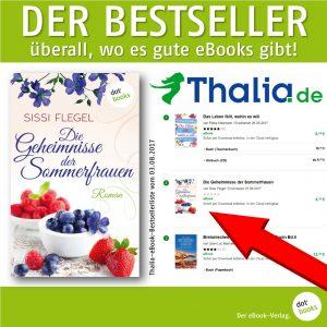 Flegel, Thalia-Bestseller Das Geheimnis der Sommerfrauen