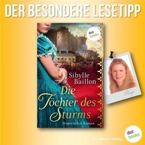 Lesetipp Baillon Die Schwestern des Sturms