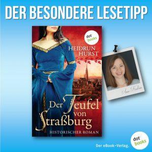 Lesetipp Hurst, Der Teufel von Strassburg